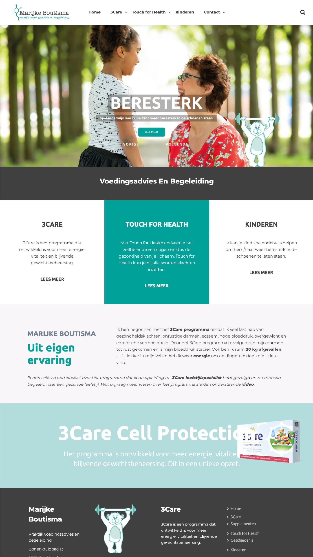Website Marijke Boutisma